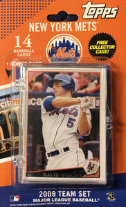 New York Mets  2009 Topps Factory Sealed 15 Card Team Set