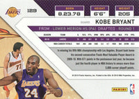 Kobe Bryant 2010 2011 Panini Threads Basketball Series Mint Card #129