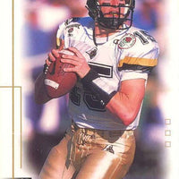 Drew Brees 2001 Sage Hit Series Mint Rookie Year Card #15