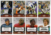 2011 Topps Rising Rookies Football Set Loaded with Rookies including Cam Newton, Von Miller, Colin Kaepernick Plus Stars and More