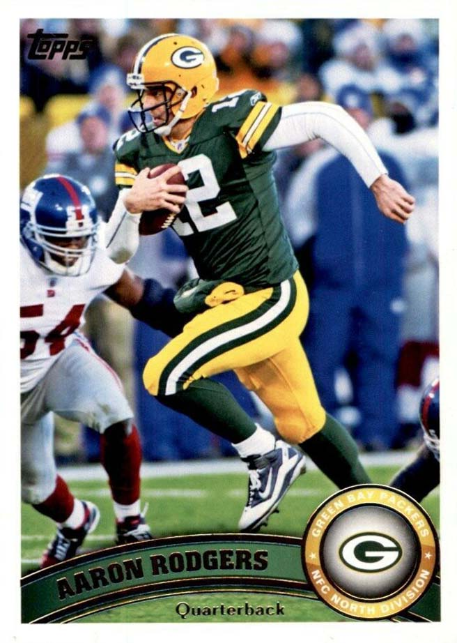 Aaron Rodgers 2011 Topps Mint Card #1
