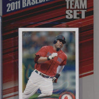 Boston Red Sox 2011 Topps Factory Sealed 17 Card Team Set