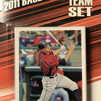 Houston Astros 2011 Topps Factory Sealed 17 Card Team Set