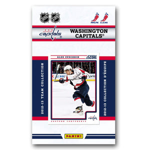 Washington Capitals  2012 / 2013 Score Factory Sealed Team Set