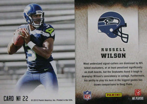 Russell Wilson 2012 Score HOT ROOKIES Mint Rookie Year Insert Card #22