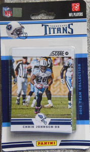 Tennessee Titans 2012 Score Factory Sealed Team Set