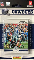 Dallas Cowboys 2012 Score Factory Sealed Team Set