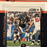 Chicago Bears  2012 Score Factory Sealed Team Set