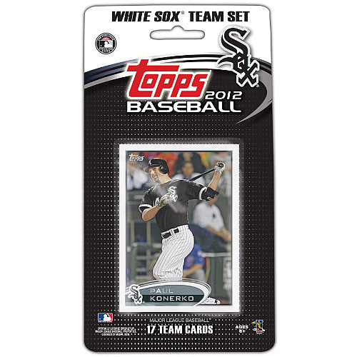Chicago White Sox 2012 Topps Factory Sealed 17 Card Team Set