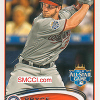 2012 Topps Traded Baseball Updates and Highlights Series Set with Bryce Harper Rookie Card