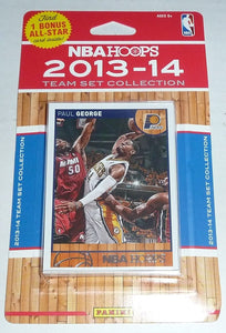 Indiana Pacers 2013 2014 Hoops Factory Sealed Team Set