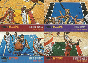 2013 2014 Hoops ABOVE THE RIM Series Complete 25 Card RETAIL EXCLUSIVE Insert Set with Lebron James Plus