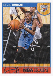 Kevin Durant 2013 2014 Hoops Basketball Series Mint Card #73