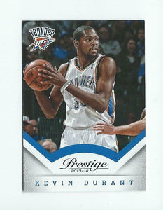 Kevin Durant 2013 2014 Panini Prestige Basketball Series Mint Card #13