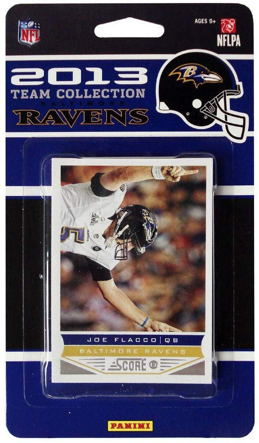 Baltimore Ravens 2013 Score Factory Sealed Team Set with John Simon Rookie Card