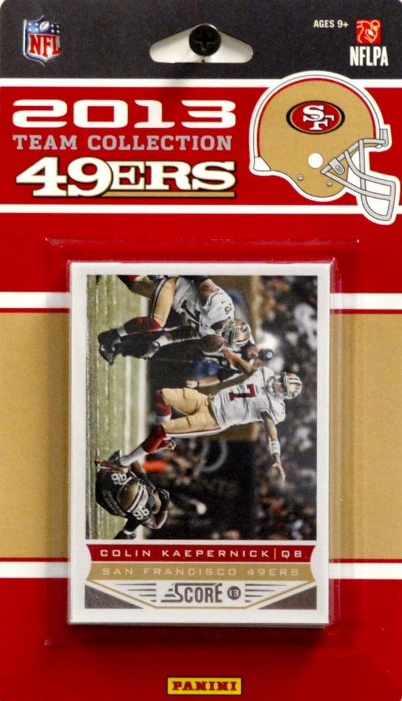 San Francisco 49ers 2013 Score Factory Sealed Team Set