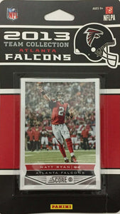 Atlanta Falcons  2013 Score Factory Sealed Team Set