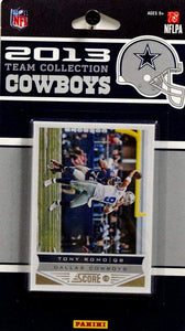Dallas Cowboys  2013 Score Factory Sealed Team Set