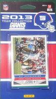 New York Giants 2013 Score Factory Sealed Team Set