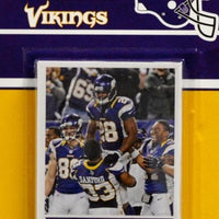 Minnesota Vikings 2013 Score Factory Sealed Team Set with 4 Rookie Cards