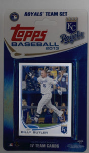 Kansas City Royals  2013 Topps Factory Sealed 17 Card Team Set