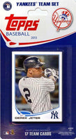 New York Yankees 2013 Topps Factory Sealed 17 Card Team Set