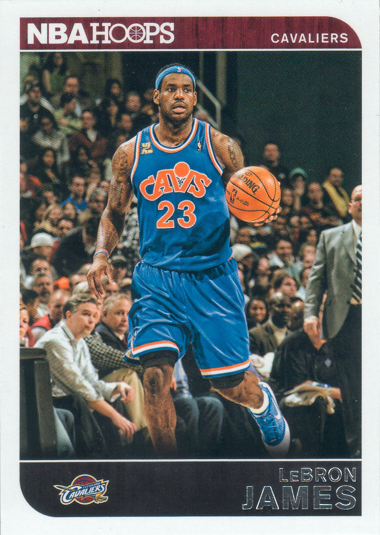 LeBron James 2014 2015 Hoops Basketball Series Mint Card #117