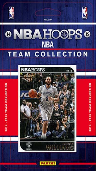 Brooklyn Nets 2014 2015 Hoops Factory Sealed Team Set