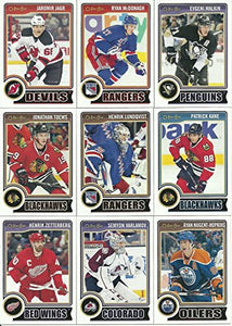 2014 2015 O Pee Chee OPC Hockey Complete Mint Basic 500 Card Set