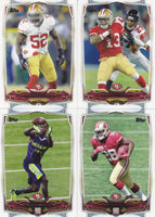 San Francisco 49ers 2014 Topps 13 Card Team Set with Colin Kaepernick and Frank Gore Plus