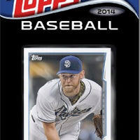San Diego Padres  2014 Topps Factory Sealed 17 Card Team Set