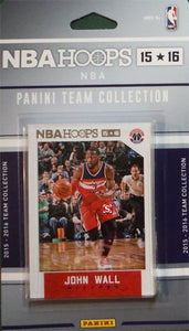 Washington Wizards 2015 2016 Hoops Factory Sealed Team Set