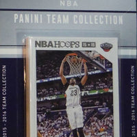 New Orleans Pelicans 2015 2016 Hoops Factory Sealed Team Set