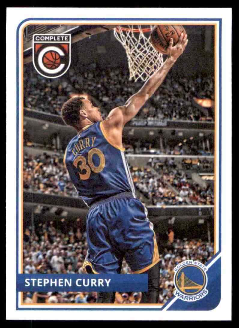 Stephen Curry 2015 2016 Panini Complete Basketball Series Mint Card #248