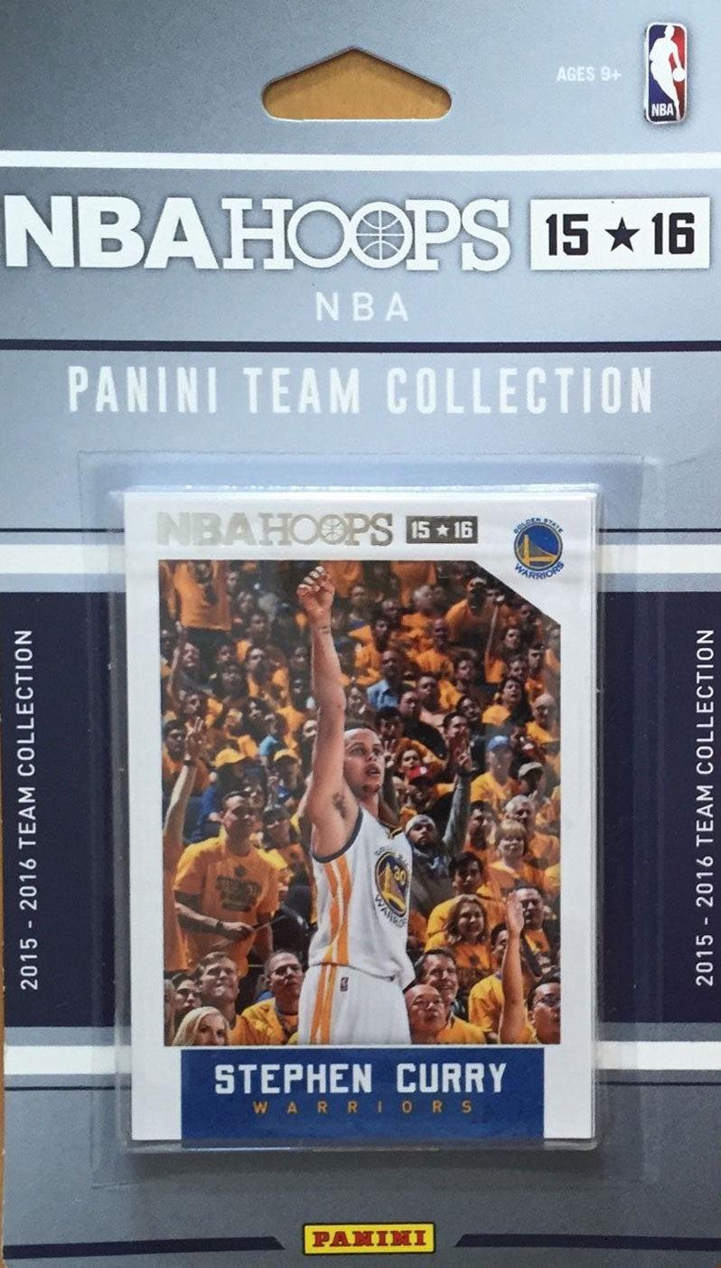 Golden State Warriors  2015 2016 Hoops Factory Sealed Team Set