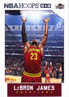 LeBron James 2015 2016 Hoops Basketball Series Mint Card #14