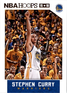 Stephen Curry 2015 2016 Hoops Basketball Series Mint Card #248
