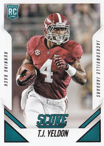 Jacksonville Jaguars 2015 Score Factory Sealed Team Set