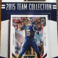 Los Angeles Rams 2015 Score Factory Sealed Team Set