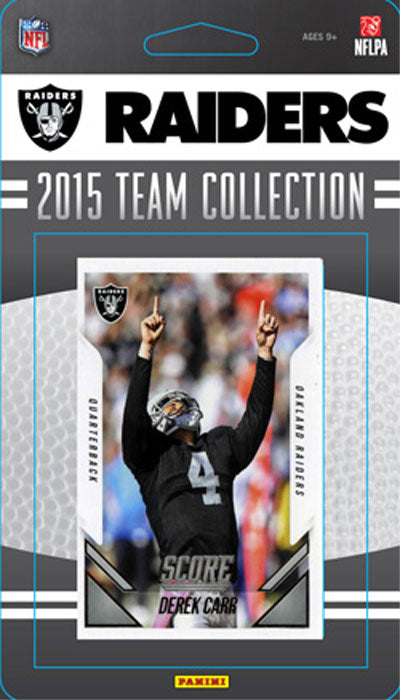Oakland Raiders  2015 Score Factory Sealed Team Set