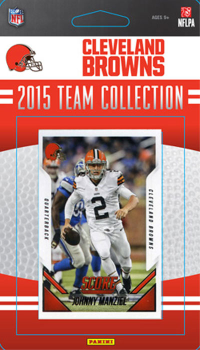 Cleveland Browns 2015 Score Factory Sealed Team Set