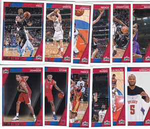 Los Angeles Clippers 2016 2017 Hoops Factory Sealed Team Set