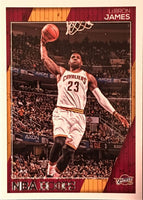 LeBron James 2016 2017 Hoops Basketball Series Mint Card #17