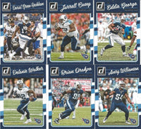 Tennessee Titans 2016 Donruss Factory Sealed Team Set