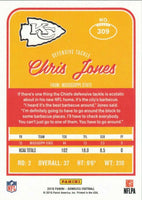 Chris Jones 2016 Donruss Mint Rookie Card #309