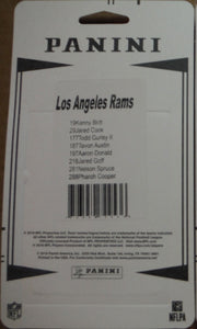 Los Angeles Rams 2016 Panini Factory Sealed Team Set featuring Jared Goff Rookie Card