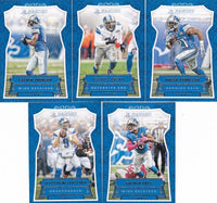 Detroit Lions  2016 Panini Factory Sealed Team Set