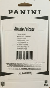 Atlanta Falcons  2016 Panini Factory Sealed Team Set