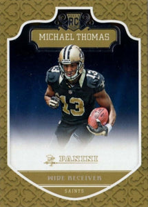 New Orleans Saints 2016 Panini Factory Team Set with Michael Thomas Rookie