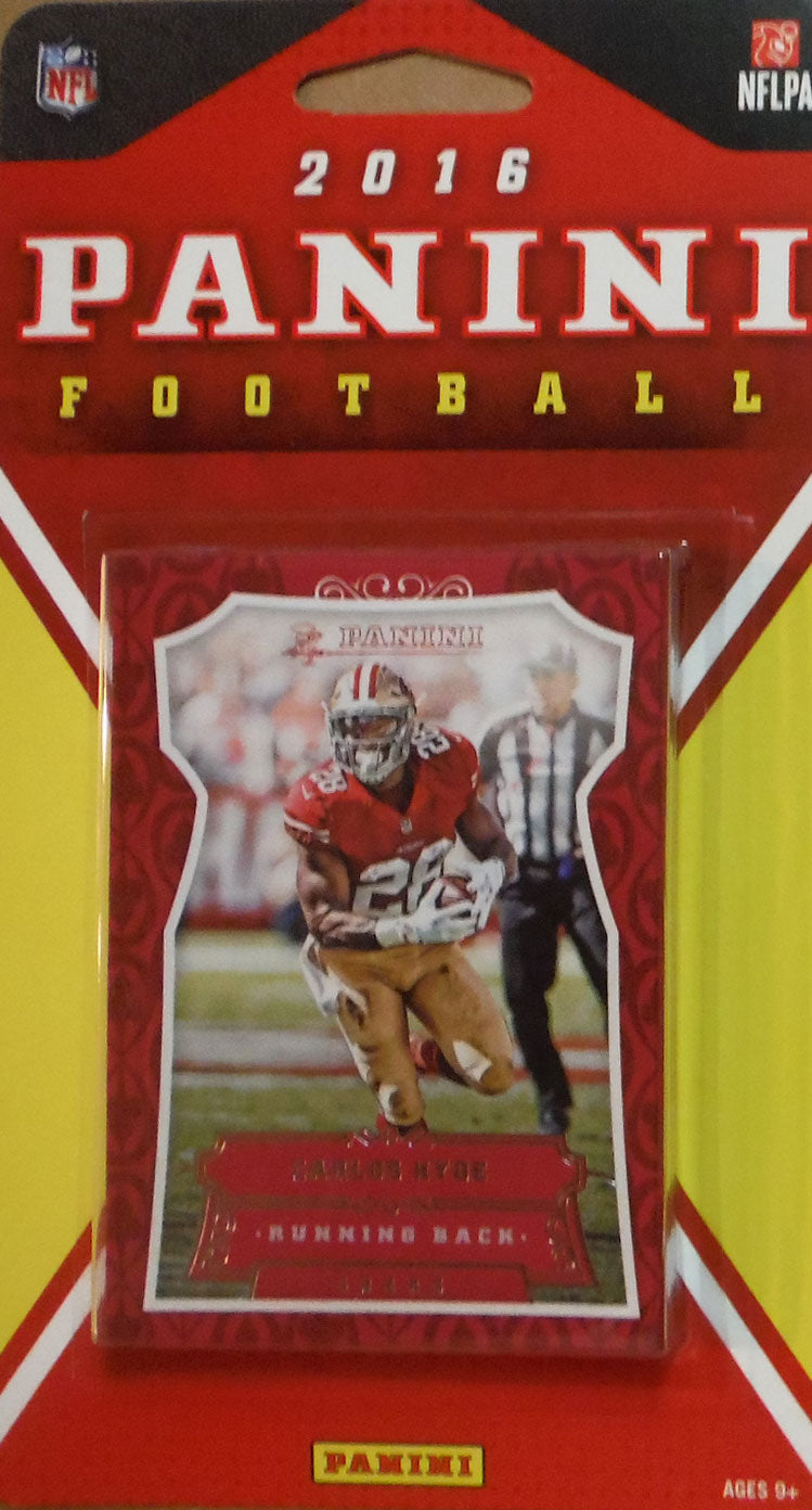 San Francisco 49ers  2016 Panini Factory Sealed Team Set with DeForest Buckner Rookie card